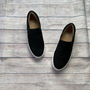Vince Camuto Kalynn Black Slip On Sneakers